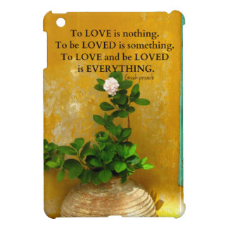 greekproverbInspirational Love quote Greek Proverb Cover For The iPad Mini