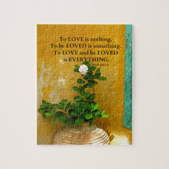 greekproverbInspirational Love quote Greek Proverb Jigsaw Puzzle