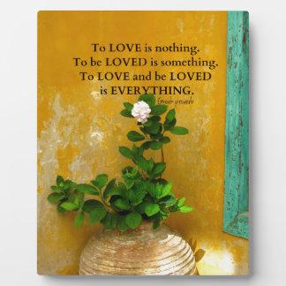 greekproverbInspirational Love quote Greek Proverb Plaque