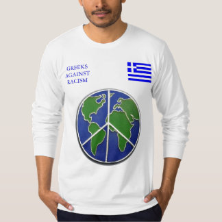 Greeks Against Racism T-Shirt