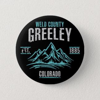 Greeley 6 Cm Round Badge