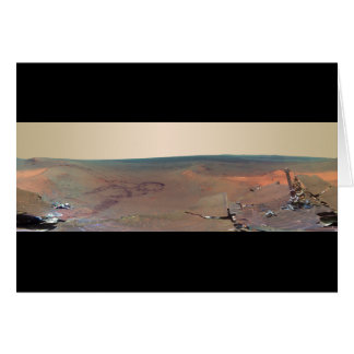 Greeley Haven Panorama Mars Rover Opportunity Card