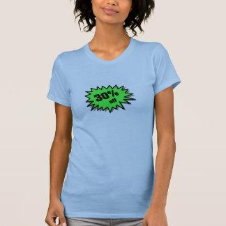 Green 30 Percent Off Tshirt