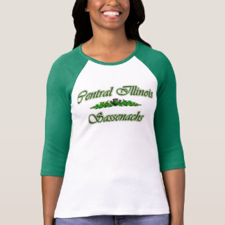 Green 3/4 sleeve CIS T-Shirt