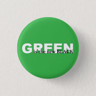 Green 3 Cm Round Badge