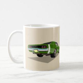 Green '68 Charger Mug