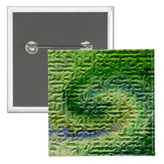 Green Abstract Art Buttons