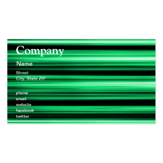 Green Abstract Business Card
