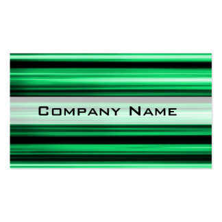 Green Abstract Pack Of Standard Business Cards