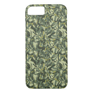 Green Abstract Camo iPhone 8/7 Case