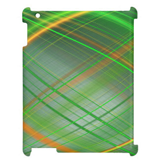 Green abstract collection theme 2 iPad covers