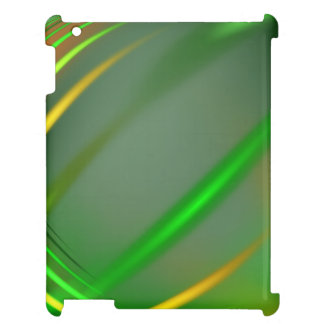 Green abstract collection theme 3 case for the iPad 2 3 4