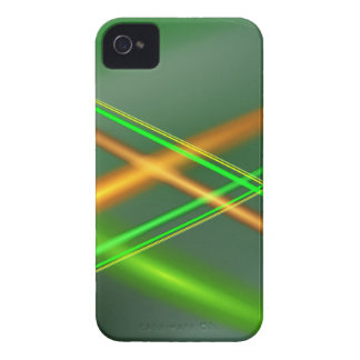 Green abstract collection theme 4 iPhone 4 Case-Mate cases