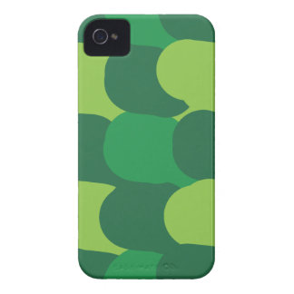 Green Abstract Design Pattern iPhone 4 Case-Mate Cases