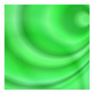 Green abstract design photograph