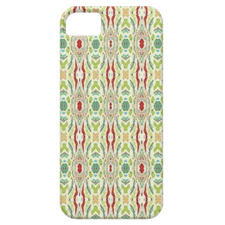 Green Abstract Nature Shapes Design iPhone 5/5S Cover