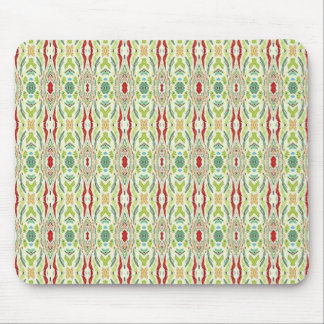 Green Abstract Nature Shapes Design Mousepads
