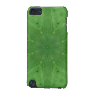 Green abstract pattern iPod touch (5th generation) case
