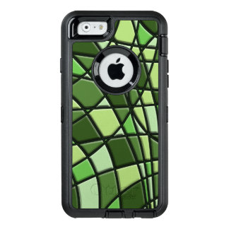 Green Abstract Pattern OtterBox iPhone 6/6s Case