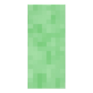 Green Abstract Pattern Rack Cards
