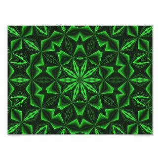 Green Abstract Photo Print