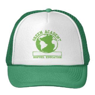 Green Academy Biofuel Trucker Hats