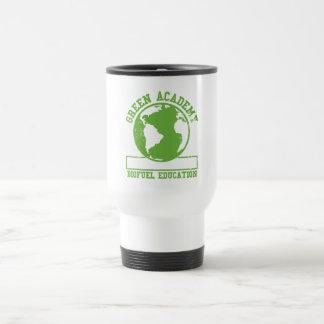 Green Academy Biofuel Stainless Steel Travel Mug