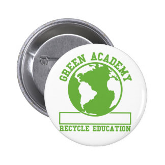 Green Academy Recycle Buttons