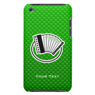 Green Accordion Barely There iPod Cases