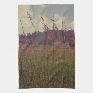 Green Acres Barn Kitchen Towel