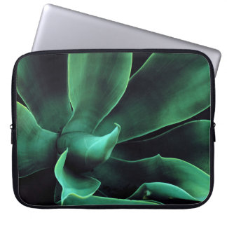 Green Agave Attenuata Laptop Sleeve