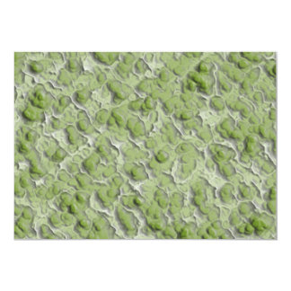 Green algae effect pattern. personalized announcement