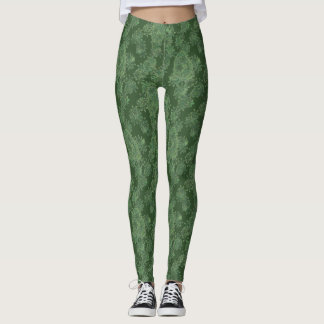Green Algae Leggings