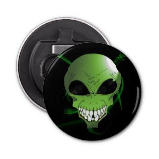 Green alien Bottle Opener