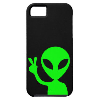 Green Alien iPhone 5 Cases