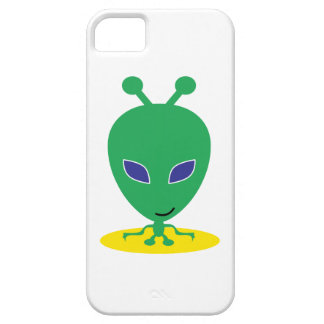 Green Alien iPhone 5/5S Cover