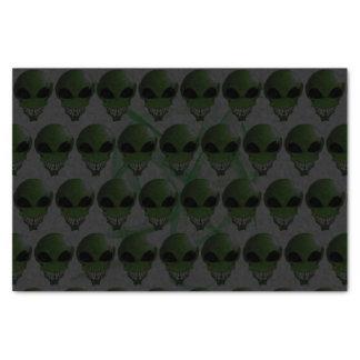 Green Alien Custom 10lb Tissue Paper