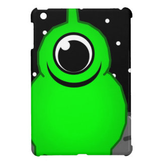Green Alien Drawing Cover For The iPad Mini
