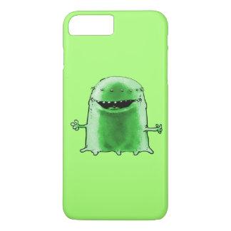 green alien funny cartoon iPhone 7 plus case