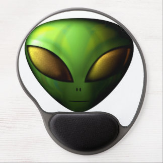 Green Alien Mouse Pad