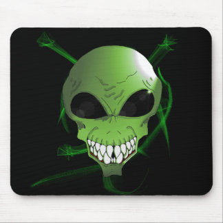 Green Alien Mousepad