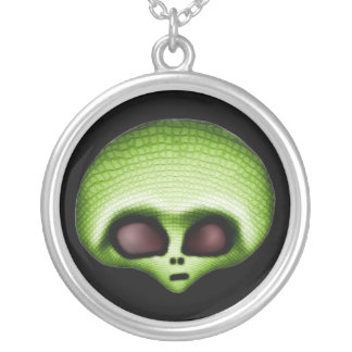 Green Alien Necklace