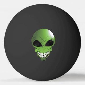 Green Alien One Star Ping Pong Ball