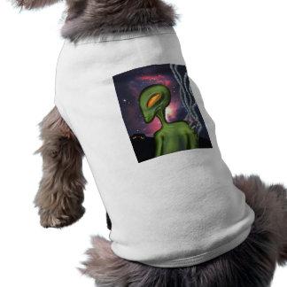 Green Alien Pet Clothing