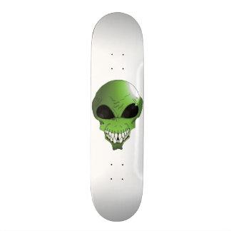 Green Alien skateboard