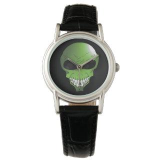 Green Alien women's watch