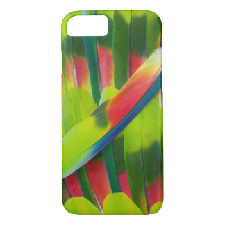 Green amazon parrot feathers iPhone 8/7 case
