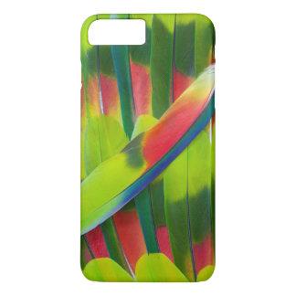 Green amazon parrot feathers iPhone 8 plus/7 plus case