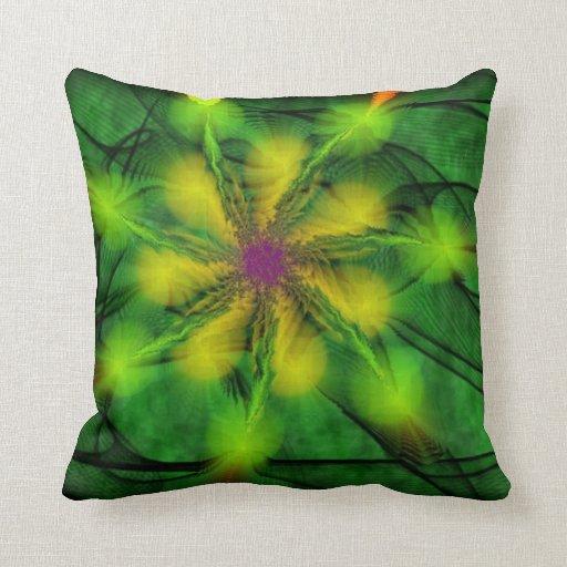 Green American MoJo Pillow
