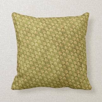 green American MoJo Throw Pillows